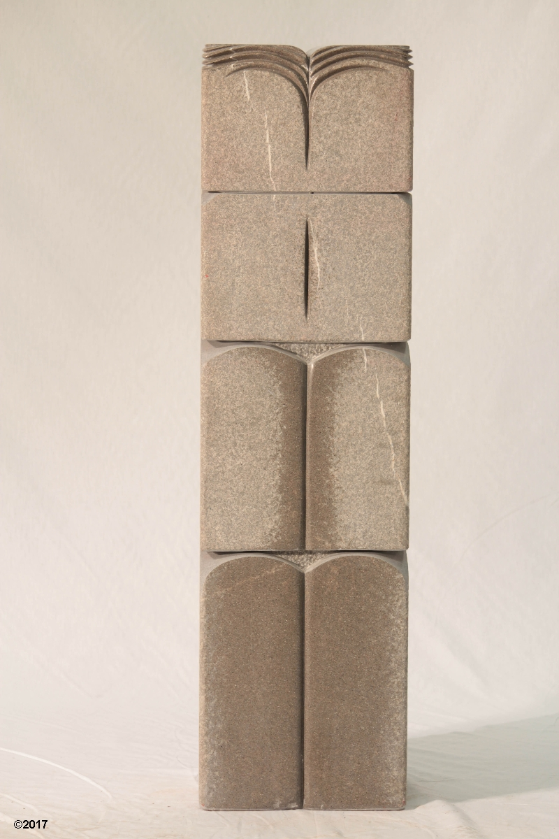 Tribute to the book - Fossiliferous Sandstone 110x25x25